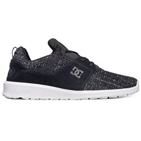 DC Heathrow LE Skate Shoes - Black Marl