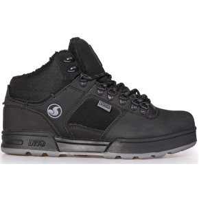 DVS Westridge Snow Shoes - Black/Grey Leather