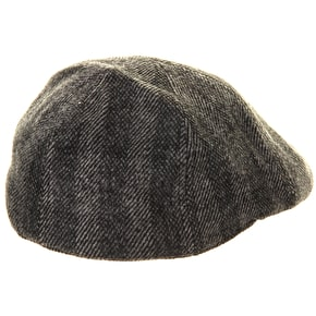 Barts Mr. Mitchell Flat Cap - Dark Heather