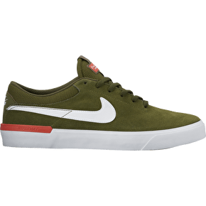 Nike SB Koston Hypervulc Skate Shoes - Legion Green/White