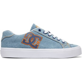 DC Chelsea Plus Skate Shoes - Denim