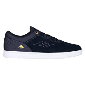 Emerica Westgate CC Skate Shoes - Navy/White