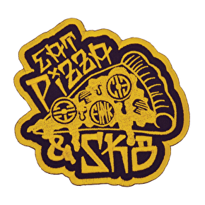 Chicks In Bowls Eat Pizza & Skate Patch