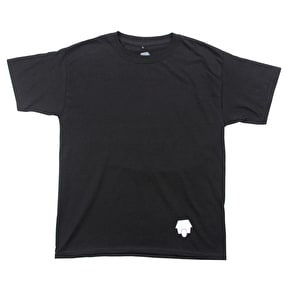 SkateHut Statehut Kids T-Shirt - Black/White
