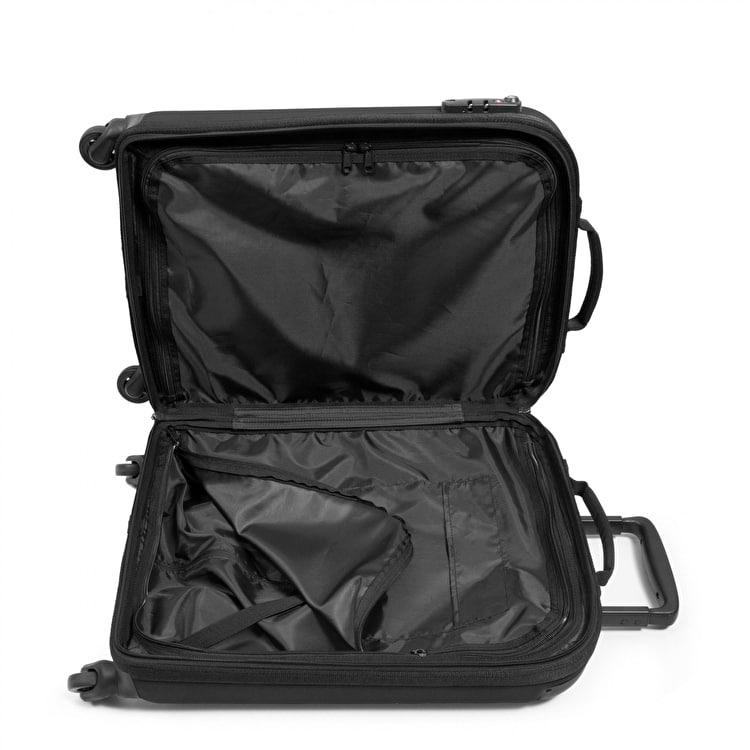 Eastpak Tranzshell S Wheeled Luggage- Black