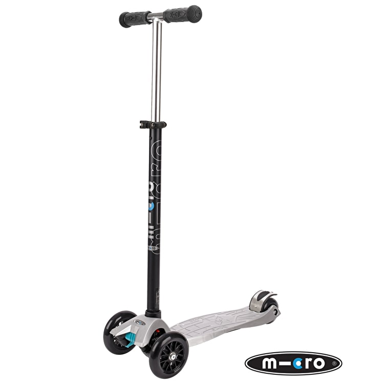 Maxi Micro T-Bar Scooter - Silver