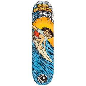 Foundation Skateboard Deck - Triple Overhead Spencer 8