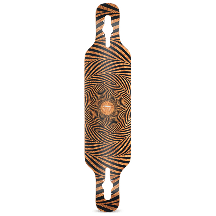 Loaded Longboard Deck - Tan Tien Topo
