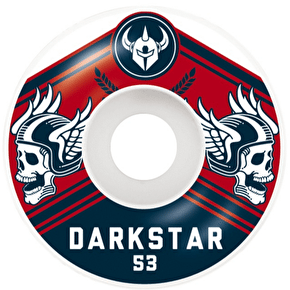 Darkstar Skateboard Wheels - Ale Navy/Red 53mm (Pack of 4)