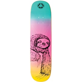 Welcome Sloth On Amulet Skateboard Deck 8.125