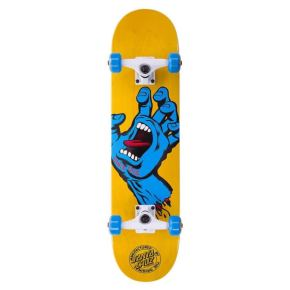 Santa Cruz Screaming Hand Complete Skateboard - Yellow 7.5