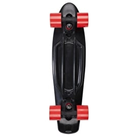 D Street Cruiser - Polyprop 3rd Gen Black/Red 23
