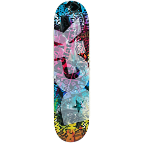 DGK Trippy Collage Skateboard Deck - 7.8