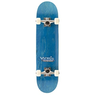 Voltage Graffiti Logo Complete Skateboard - Blue 7.5