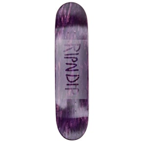 RIPNDIP Nerm Beard Skateboard Deck - Multi 8.25