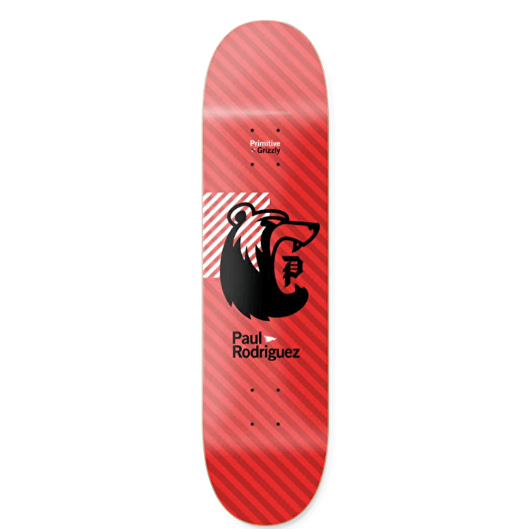 Primitive x Grizzly Rodriguez Bearhaus Skateboard Deck - 8.0""