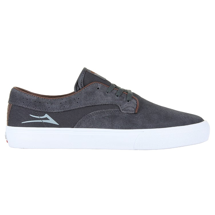 Lakai Riley Hawk Skate Shoes - Gargoyle Suede