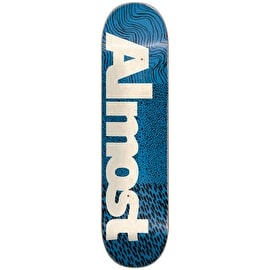 Almost CT Logo Skateboard Deck 7.75