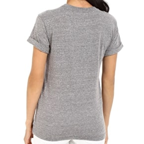 Vans Kelp Surround Womens T-Shirt - Grey Heather