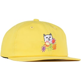 RIPNDIP Nermcasso Cotton Strapback Cap - Yellow