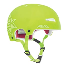 REKD Elite Semi-Transparent Helmet - Green