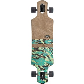 Globe Geminon Longboard - Dark Maple/Watershed 38