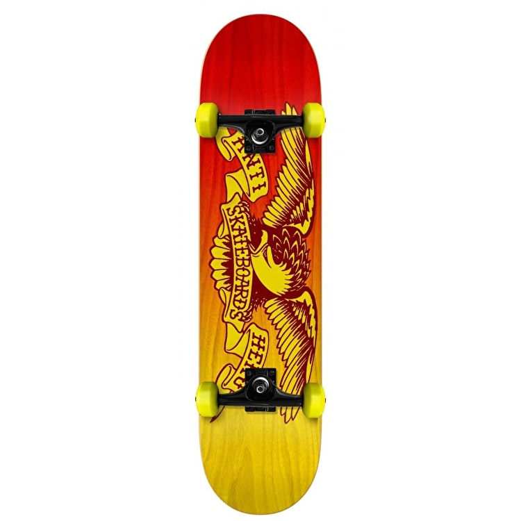 Anti Hero Eagle Fade Mini Skateboard - 7.38""