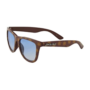 Santa Cruz High Life Sunglasses - Caramel/Tan