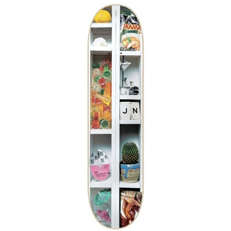 """Isle Curiosities Skateboard Deck - White Dipped LE Nguyen 8.375"""""""