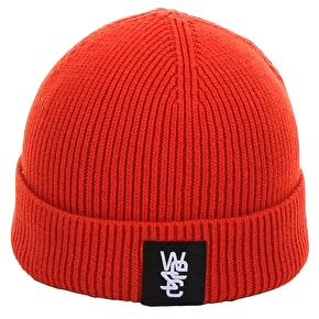 WeSC Sampson Beanie - Poppy Orange