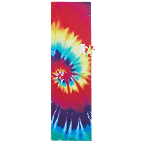 Grizzly OG Bear Cut-Out Tie Dye Grip Tape