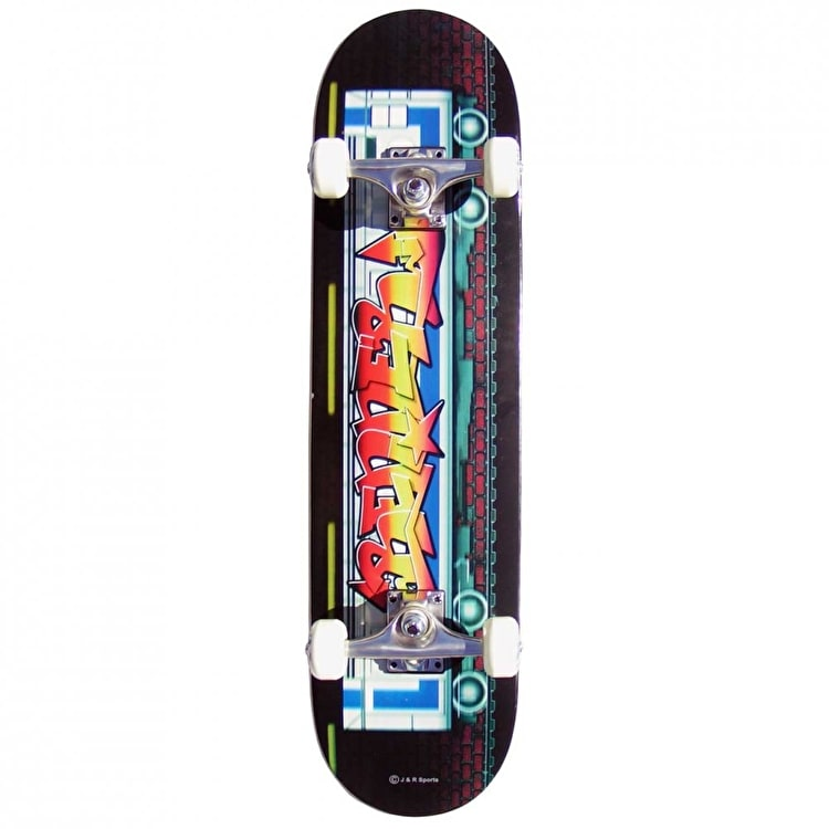 Renner B Series Graffiti on the Tube Complete Skateboard