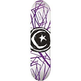Foundation Star & Moon Lines Skateboard Deck - 8.0