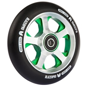 Blazer Pro 110mm XT Wheel - Black/Green