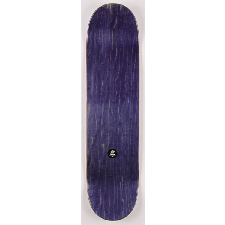 Magenta Team Wood Skateboard Deck - 8.0""