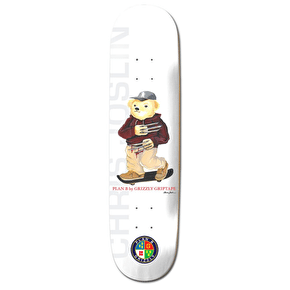 Grizzly X Plan B Skateboard Deck - Joslin
