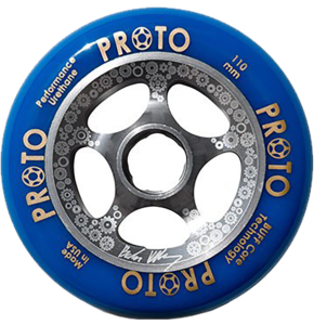 Proto Gripper 110mm Wheels - Brandon Kilbury Sig (pair)