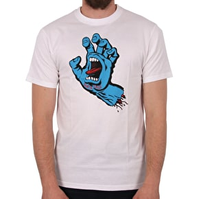 Santa Cruz Screaming Hand T-Shirt - White
