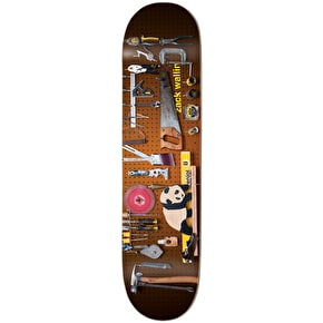Enjoi Premium Panda Slick Skateboard Deck - Wallin 8.125
