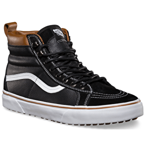 Vans Sk8-Hi Shoes - (MTE) Black/True White