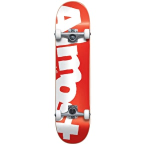 Almost Side Pipe Complete Skateboard - Red - 7.875