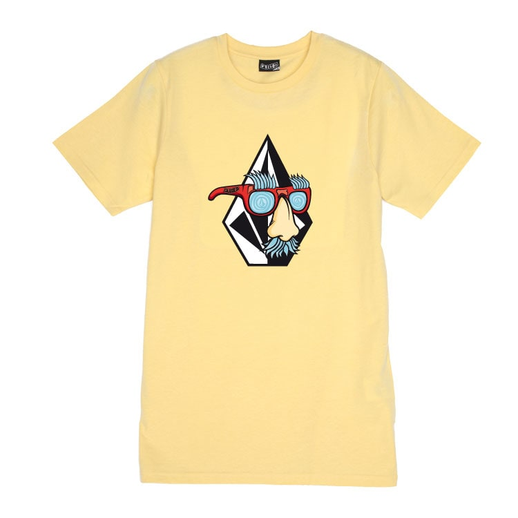 Volcom Kids Weirdo T-Shirt - Lemon Yellow