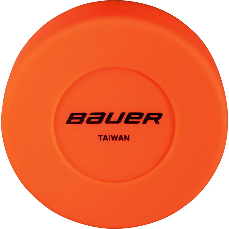 Bauer Floor Hockey Puck - Orange