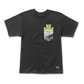 Grizzly Team Burrito Pocket T-Shirt
