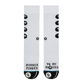 Stance H8ters Socks - White