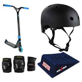 Nitro Circus R Willy CX1 Stunt Scooter Deluxe Bundle