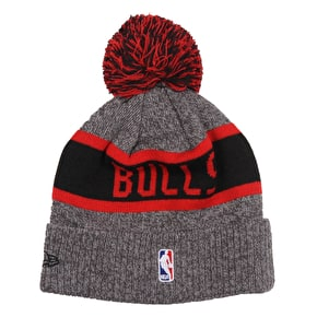 New Era NBA Marl Knit Junior Beanie - Chicago Bulls