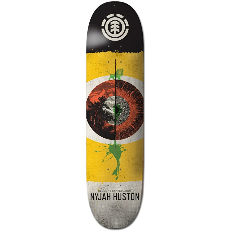 Element Retina Skateboard Deck - Nyjah 8.25""