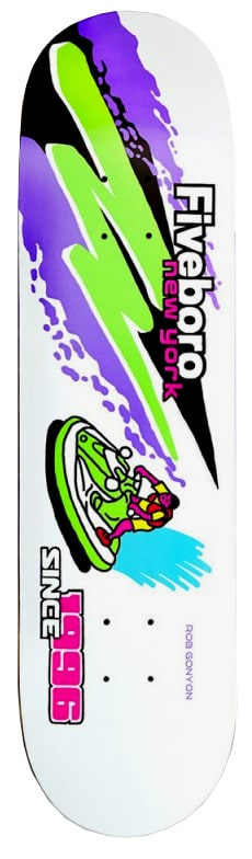 Image of 5Boro Moto Series Deck - Jet Ski Gonyon 8.0""