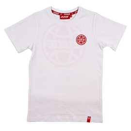 Zukie Little & Large Kids T Shirt - White